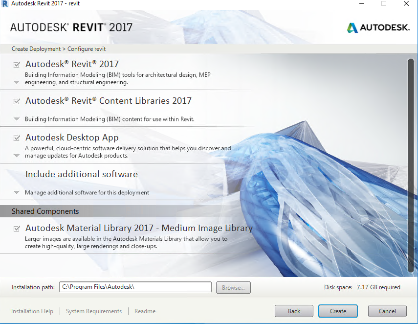 Deploying Autodesk REVIT
