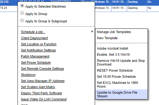 Deploying Google Drive File Stream
